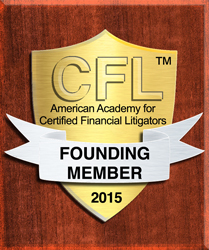 Founding Member of American Academy for Certified Financial Litigators