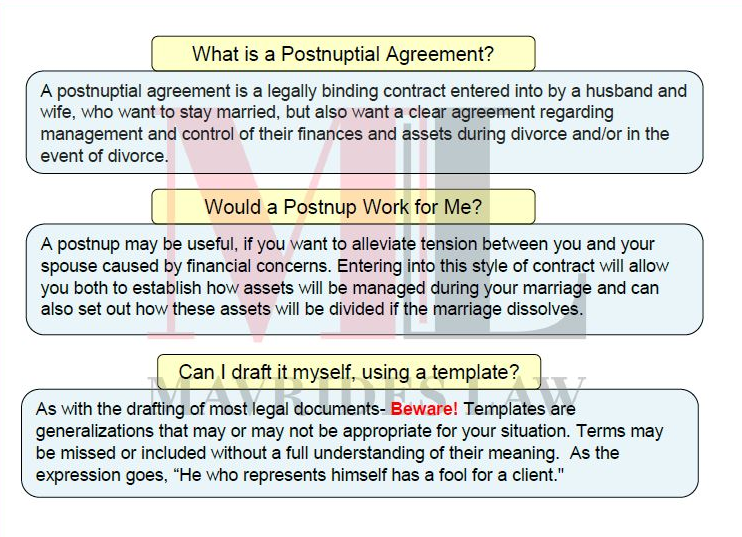 What is a postnuptial agreement infographic best boston divorce what is a postnuptial agreement infographic solutioingenieria Images