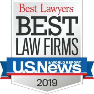 Best Lawyers ranked Mavrides Law a 2019 Best divorce firm